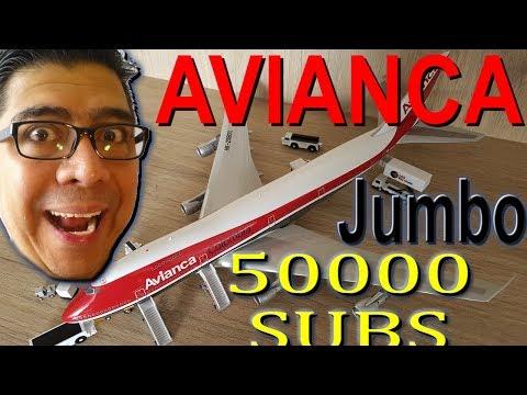 ¡ESPECIAL 50.000 SUSCRIPTORES! Avianca Jumbo Boeing 747. (#91)
