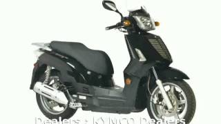 6. 2007 KYMCO People S 50 4T  Engine Features Specification Specs Details Dealers Transmission