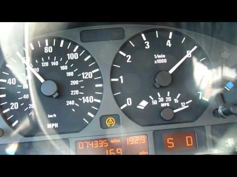 2002 BMW 325i 0-60 (E46 Model)