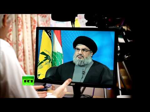 L'interview de Hassan Nasrallah par Julian Assange tourne en boucle sur Russia Today - VIDEO