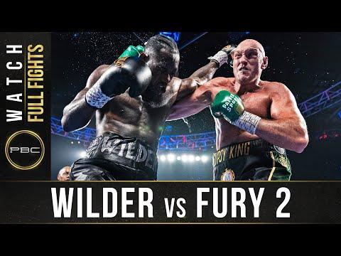 Wilder vs Fury 2 FULL FIGHT: February 22, 2020