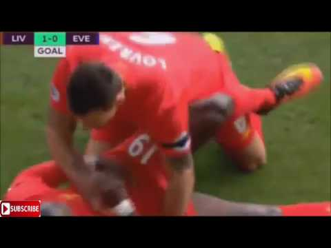 Liverpool vs Everton 3-1 All Goals & Highlights 1.4.2017