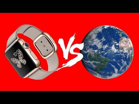 TOP-10 Apple Watch за 1 млн. руб. vs Мир