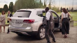 See more of the Volkswagen Atlas today: https://vwmodels.ca/atlas/ Introducing the All-New 2018 Volkswagen Atlas SUV. Leg room is a valuable commodity in car...