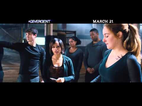 "KATE WINSLET in DIVERGENT ""  Fighting Back  ""  2014"