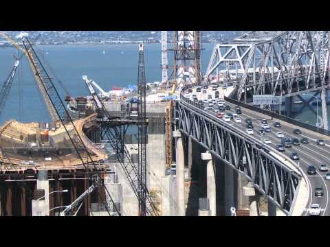 SAN FRANCISCO BAY - Witness more than 42000 hours of construction in just 4 minutes with this official time-lapse movie of the San Francisco-Oakland Bay Bridge. Our live stream...