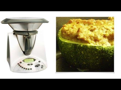 video ricetta: bimby - zucchine tonde ripiene