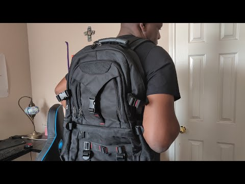Tocode Durable Travel Backpack with USB Charging Port!