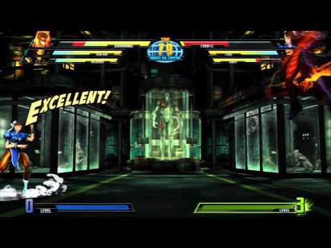 Marvel vs Capcom 3 Ultimate Character Reveal Trailers
