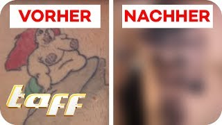 Video FETTE ARIELLE mit BRUSTWARZEN-TATTOO covern? Cover Up mit Ronja Block | taff | ProSieben MP3, 3GP, MP4, WEBM, AVI, FLV Juli 2018