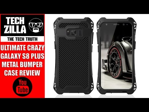 Samsung Galaxy S8 Plus Metal Bumper Case Review - Extreme Protection (видео)