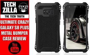 Samsung Galaxy S8 Plus Metal Bumper Case Review - Extreme Prot...