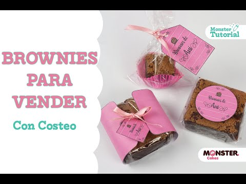 BROWNIES CON COSTEO - (Brownies with pricing - Eng/Subt)