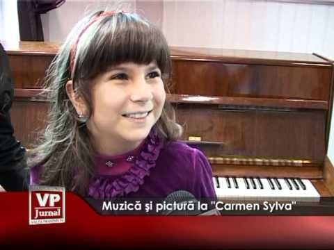 """Muzică şi pictură la """"Carmen Sylva"""""""