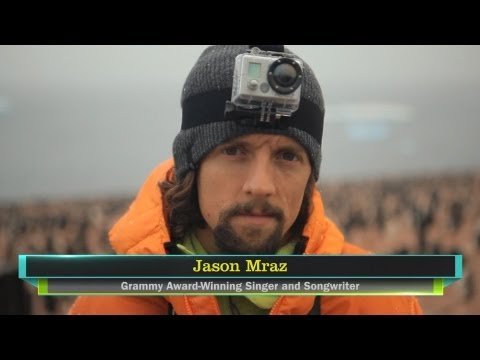 climate - http://ClimateRealityProject.org - Singer/songwriter Jason Mraz discusses climate change.