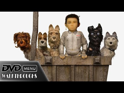 Isle Of Dogs (2018) DvD Menu Walkthrough