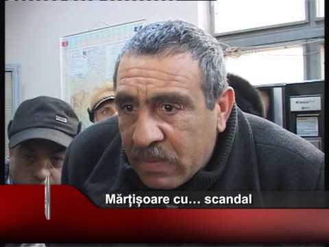 Mărțișoare cu… scandal