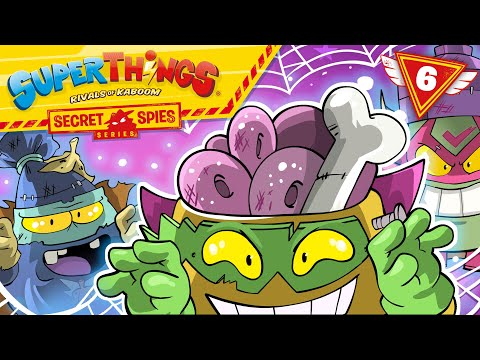 😎 SUPERTHINGS 😎 💥 | Ep 6 |🎃 HALLOWEEN under the terror of ZOMBIES | CARTOONS for KIDS