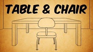 In this video I'll show you how to draw a table and chair in one point perspective using Autodesk Sketchbook Pro.