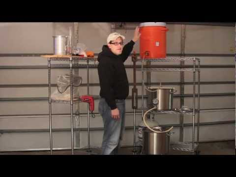 Overview of a typical Three-Tier Brewing System // BREW NERDS community