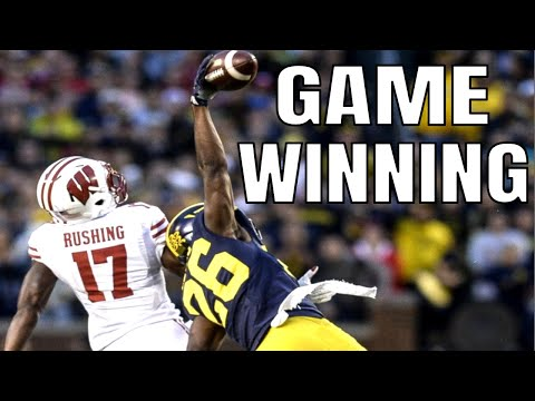 College Football Game Winning Interceptions | Part 1
