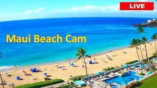 アメリカ全土で最高レベルのビーチ【カアナパリビーチ】HD Maui Cam