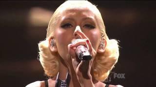 Christina Aguilera  - You Lost Me LIVE on American Idol Finale |HD|