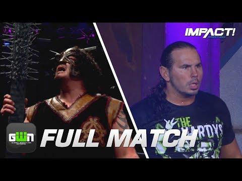 FULL MATCH: Abyss vs Matt Hardy: MONSTER'S BALL (TNA Hardcore Justice 4)