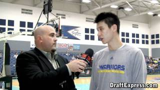 DraftExpress Exclusive - Jeremy Lin Interview at the 2011 D-League Showcase