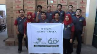 Video Ucapan HUT Tempo Scan ke-60 PTT. Bangka / Pangkal Pinang MP3, 3GP, MP4, WEBM, AVI, FLV Desember 2017