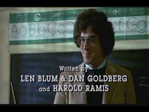 HES IN THE HOLE!  RIP Harold Ramis - one of the all time greats