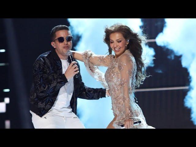 Thalía & De La Ghetto - Todavía te quiero (Premio Lo Nuestro) FULL HD