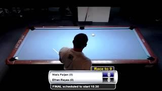 Bergen Open 9-Ball 2013 - Efren Reyes VS Niels Feijen FINAL