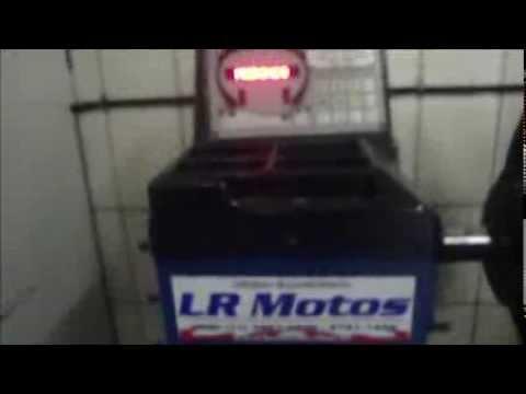 LR Motos - Balanceamento da Roda Traseira MVK Halley Preta  - 6567