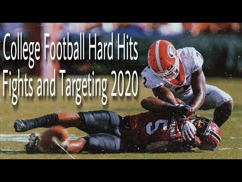 College Football Hard Hits, Fights and Targeting 2020