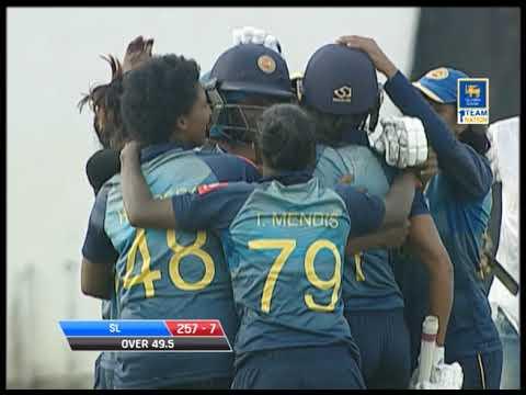 Need 6 runs from 6 balls: Sri Lanka Womens beat India Women in a thriller