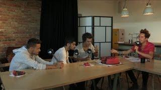 One Direction Eat the Breakfast Show #SpongeDirection Cake
