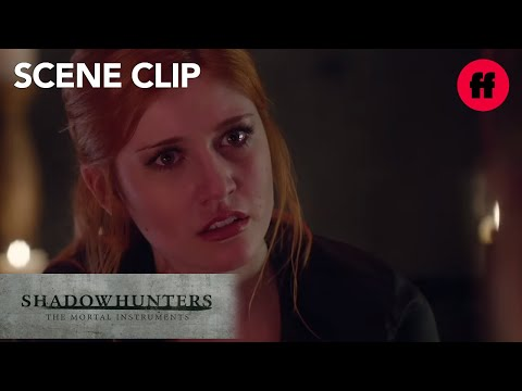 Shadowhunters | Season 1, Episode 6: Luke is Amazed by Clary | Freeform