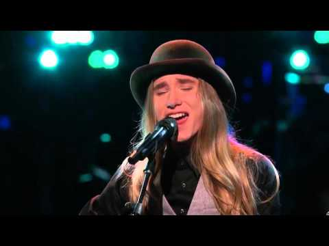 The Voice 2015 Battle   Sawyer Fredericks Vs  Noelle Bybee Have You Ever Seen The Rain