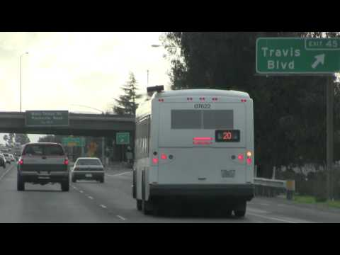 Fairfield and Suisun Transit - Gillig BRT Route 20 #07622