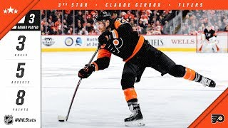 Nonton Claude Giroux Earns Third Star Of The Week Film Subtitle Indonesia Streaming Movie Download
