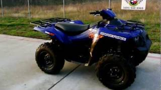 9. 2012 Kawasaki Brute Force 650 4X4 I in Adventure Blue