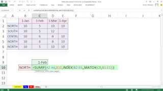 Mr Excel&excelisfun Trick 123: Lookup Column And Then Add With Criteria