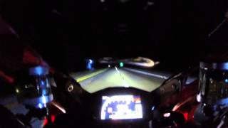 6. Ducati 1199 Panigale R vs 2 Kawasaki ZX10R's: Top Speed Run