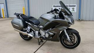 9. For Sale $6,999:  Pre Owned 2013 Yamaha FJR1300 Overview and Review