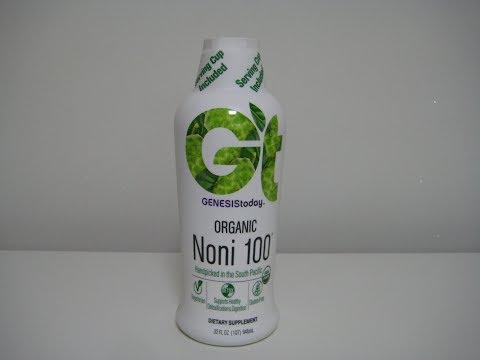 iHerb/Genesis Today, Organic Noni 100     Gluten Free