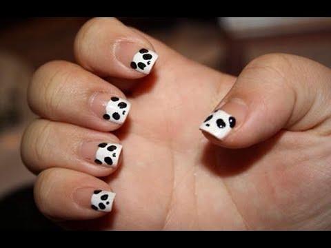 Uñas decoradas - Como Hacer Manicure Osito Panda - BellezaTv por Juan Gonzalo Angel