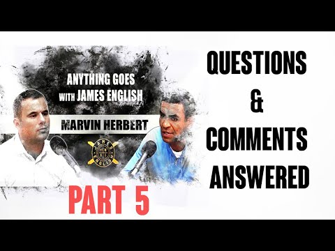 """Former offender Marvin Herbert answers questions """"Yes I think drugs should be legalised"""" Q&A Part 5"""