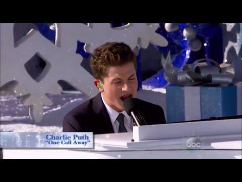 Charlie Puth - One Call Away (Performance Disney Parks Christmas Day Parade)
