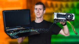Video Put a Desktop GPU in a LAPTOP… The CHEAP WAY! MP3, 3GP, MP4, WEBM, AVI, FLV Oktober 2018